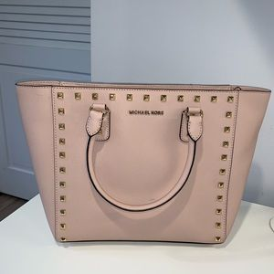 Blush pink Michael Kors bag